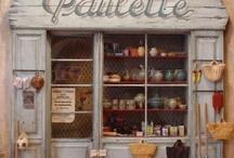miniature store