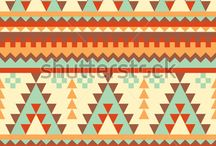 Geometric Aztec Patterns Inspirations