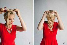 Hairstyling / Leuke ideeën om je haren te doen