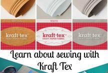 Kraft tex paper