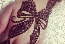 The beautiful henna ♥️♥️