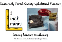 """Dollhouse Miniatures Tutorials, Patterns & How To's / Interesting tutorials, patterns and ideas for 1:12"""" scale dollhouse miniatures"""