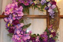 Letni kytice,dekorace