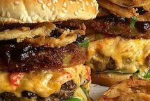 Burgery, sandwiche a hot dogy