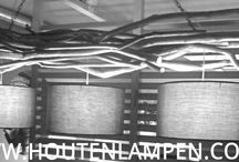 Houten lampen / Houtenlampen