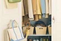 Organizing - Closets