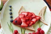 Food art / L'art dans l'assiette.