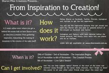 Inspiration to Creation Event / Sharon Wee Creations' online event October 29th - November 8th 2013. Explore the creative process from start to end with me. This board will showcase all the pictures that inspire me as I create a cake concept.