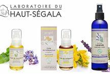 Laboratoire du Haut-Segala / Aceites puros orgánicos y aguas florales creados en Aveyron, al sur de Francia, donde la Naturaleza es cuidadosamente preservada y respetada.  Haut- Segala tiene certificado Ecocert, no tests en animales y su packaging es biodegradable.