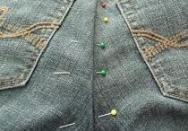 Altering jeans