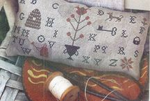 Cross stitch & samplers / by Leslee Shepler