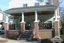 Decks, porches, patios, pergolas / Porches, pergolas, outdoor living rooms, three seasons rooms, and decks.
