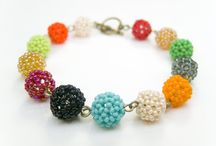 Bracelets by avocado / Hand made beaded bracelets