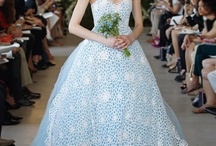 Living Color / Colorful wedding gowns