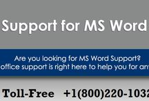 1-800-220-1032 MS Word Technical Support Number for Help