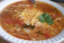 FOOD: My homemade soups, stews, & chili / One of my favorites to make are soups, chili, and stews. These are some pics of soups and stews I have made and wanted to share..........