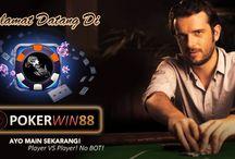 Pokerwin88 / Situs Poker Online Indonesia Terpecaya mengunakan uang asli, Semua permainan kami tidak menggunakan bot / Robot maupun staff yang ikut bermain. Gabung sekarang juga dan dapatkan jutaan rupiah setiap harinya!  Minimal depo hanya 10.000 anda dapat bermain 4 jenis permainan kartu dalam 1 ID yaitu : Poker, DominoQQ, Blackjack, Ceme