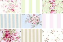 Shabby chic / All about shabby chic pattern, design, colors