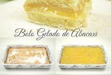 bolo gelado de abacaxi da Isamara Amâncio