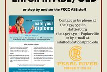 ABE/GED / by Pearl River Community College