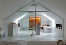 loft bathroom/bedroom