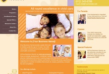 Child Care Centers Websites / Professional Websites for Child Care Centers. Web Start Today helps you create a great impression on your prospects and customers with professional websites designed specifically for Architects. Our easy to use Website Builder allows you to build a well-constructed, effective online presence in no time at all. / by Web Start Today, Inc.