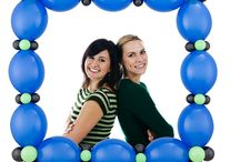 Ideas - photo booth balloons / Thank you for checking my Idea Book filled with inspiring photo booths created by balloon friends around the globe.  Let me create something similar for your event!