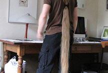 Long ... hair