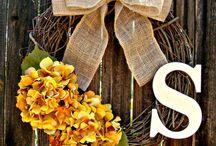 Wreaths / by Laura Skeeters