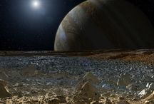 Landscapes from other planets