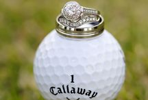 Golf wedding