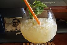 Luau Drinks at Hing's Chinese Restaurant / Luau Drinks: 21 Items including.... Scorpion, Martini,