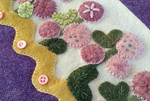 Applique / Images that can be transferred to hand or machine sewn applique