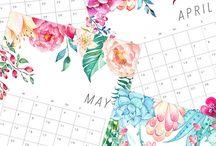 Kalender til print