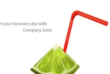 Company Juice / Web Design with Social Marketing. / by Peggy McGee