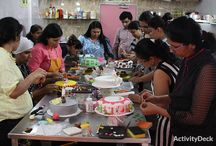Cooking and Baking Sessions / Have a look at our classes, students and instructors.