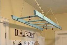 Laundry ideas.