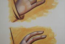 Ikona - dłonie i stopy