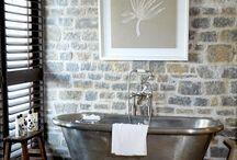 Bathroom Oasis / remodel of a 100 year old bathroom