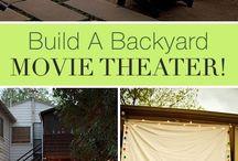 Movies in the garden