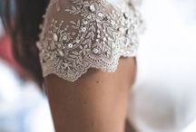 Wedding Dress Details / Love the little details on wedding dresses? Have a browse through this board for inspiration for your gown.