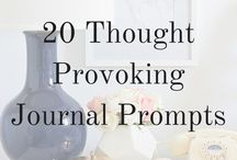 Journaling & creative writing / Journaling and creative writing tips, prompts and ideas