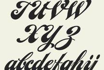 Tipografias, letras, frases etc... / porque la imaginación es tan grande y puede verse de muchas formas por ejemplo en las letras!!