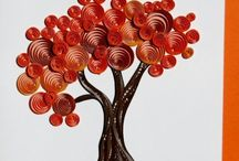 Quilling trees (&idea)