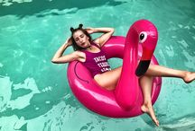 Pool party 2017 Геленджик / Бассейн круги вечеринка весело pool party girls