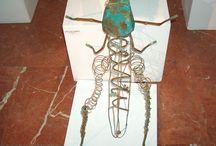 EXPOSICIONES DE KROOM / Exposición de escultura, pintura, dibujo e ilustración de cuentos infantiles