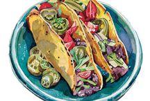 Еда в рисунках