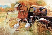 Carl Purcell / Watercolours