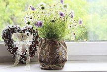 Kvetinové dekorácie / Dekorácie z kvetov