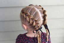 Причёски для девочки
